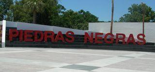 City sign Piedras Negras