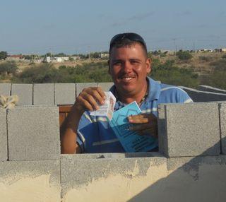 Miguel - honorary brick